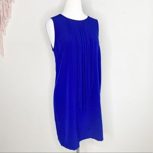 Forever 21 Dresses - Forever21 blue dress with fringe size M